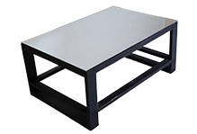 Square Mirror Top Coffee Table