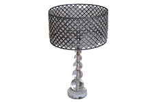 Round Crystal Lamp