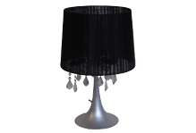 Round Ribbon Lamp (Black)